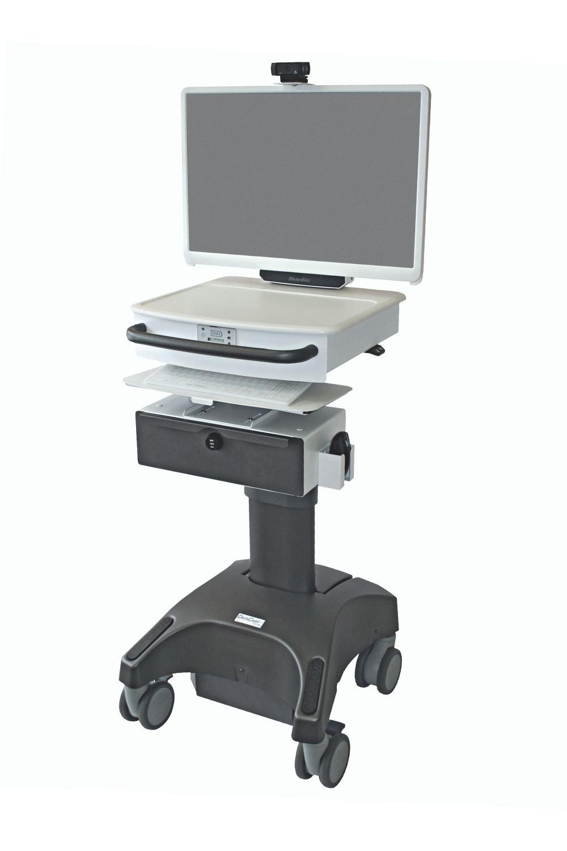 Powered Computer Cart
