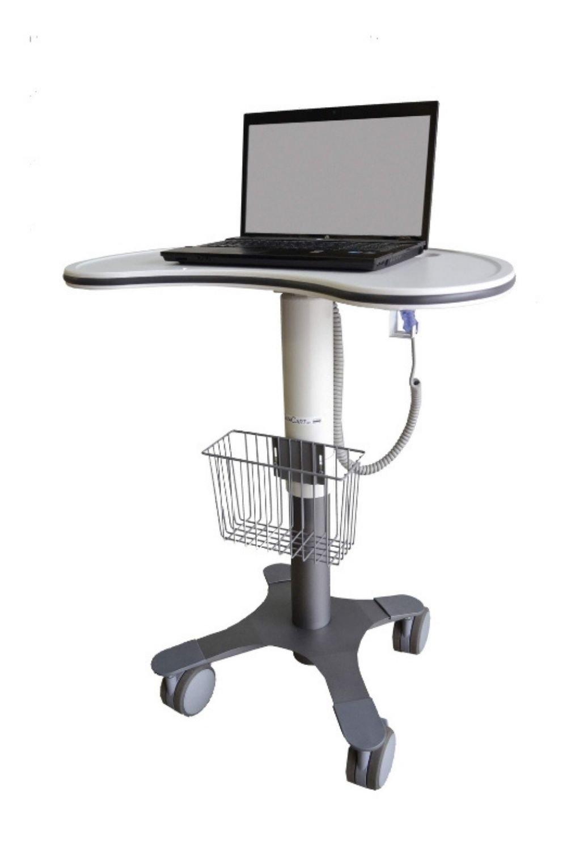 Kidney Laptop Cart