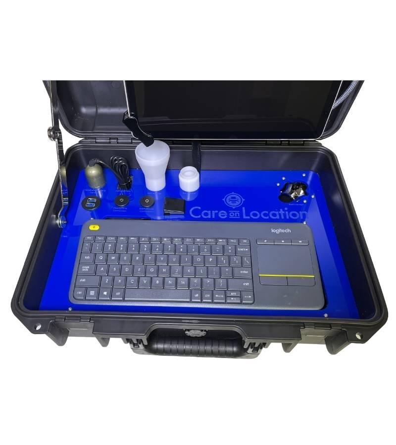 Mobile Telemedicien Exam Kit Open