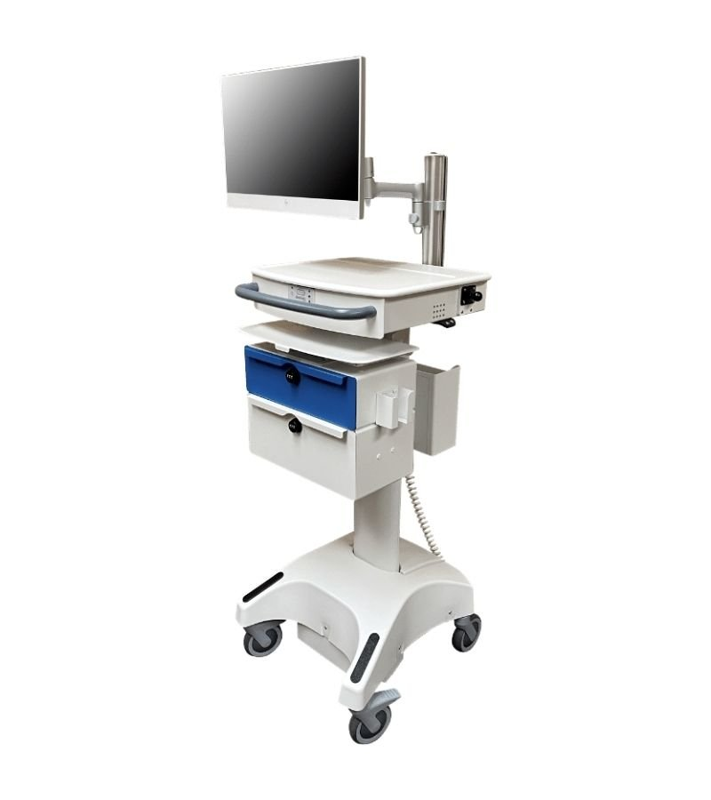 DCT-6Li, Custom Paint with Articulating Monitor Mount